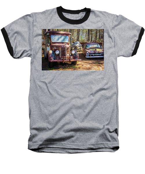 Mack Truck And Plymouth Baseball T-Shirt