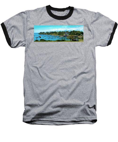 Mackerel Cove On Bailey Island Baseball T-Shirt