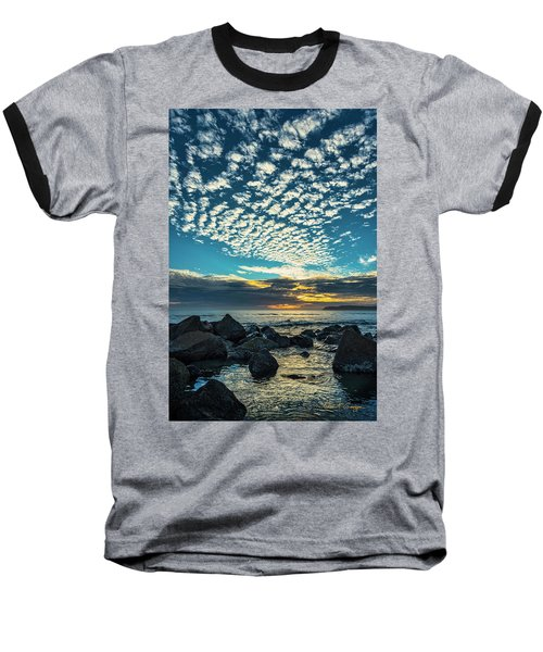 Mackerel Sky Baseball T-Shirt