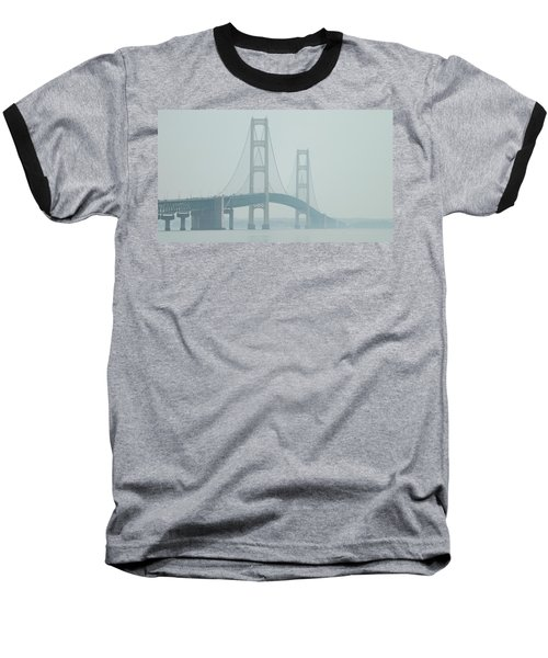 Mackinac Bridge Baseball T-Shirt