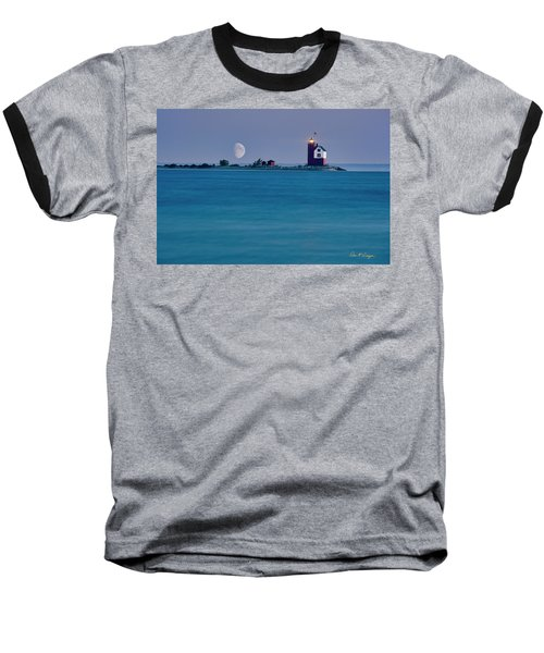 Mackinac Moon Baseball T-Shirt