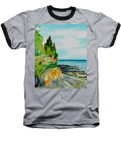 Mackworth Island Maine  Baseball T-Shirt