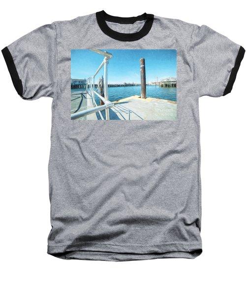 Macmillan Pier Baseball T-Shirt