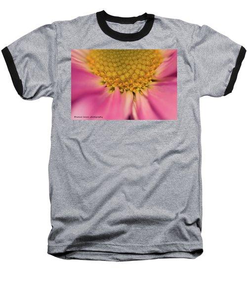 Macro Daisy Baseball T-Shirt