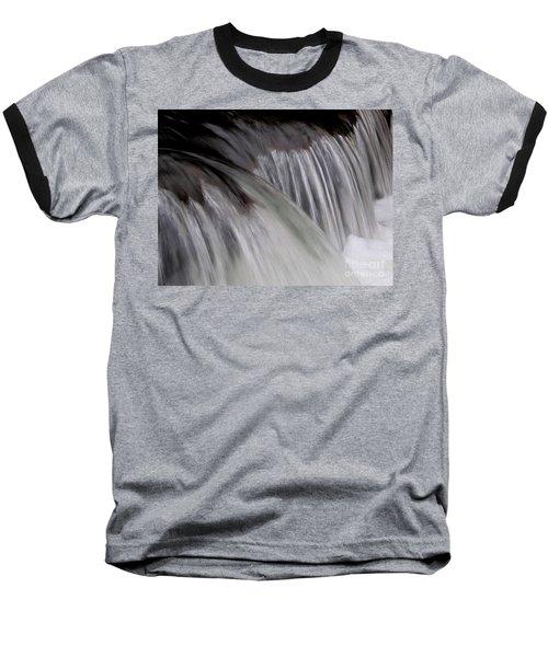 Macro Falls Baseball T-Shirt