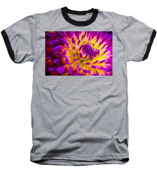 Macro Flora Baseball T-Shirt by Bruce Pritchett
