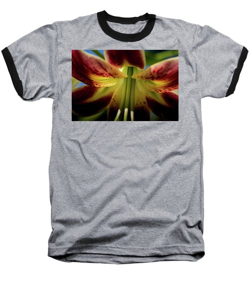 Baseball T-Shirt featuring the photograph Macro Flower by Jay Stockhaus