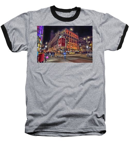 Macy's Of New York Baseball T-Shirt by Dyle Warren