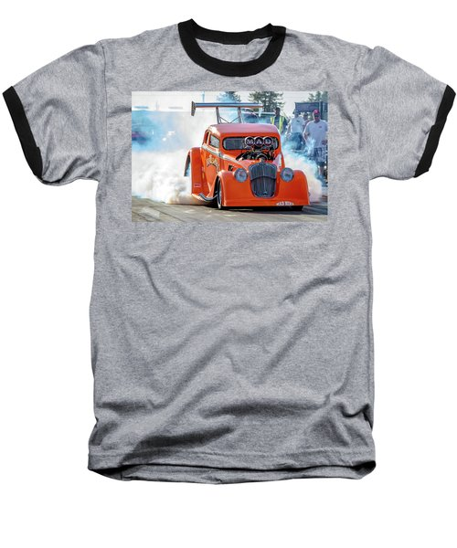 Baseball T-Shirt featuring the photograph Mad Mike Racing by Bill Gallagher