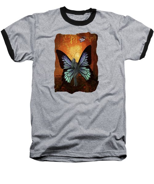 Madame Butterfly Baseball T-Shirt