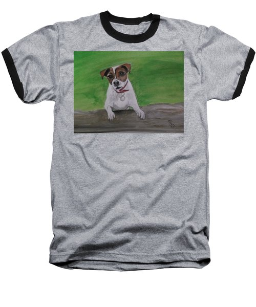 Maddie Baseball T-Shirt by Carole Robins