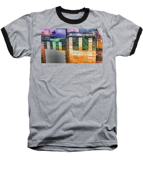 Baseball T-Shirt featuring the digital art Made For Each Other by Wendy J St Christopher