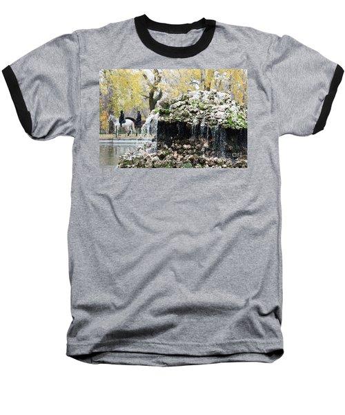Madrid Police Baseball T-Shirt