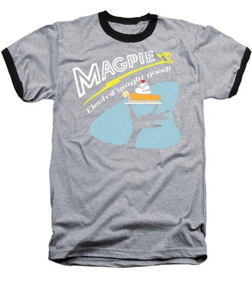Mag Pies Baseball T-Shirt by Luis Pangilinan