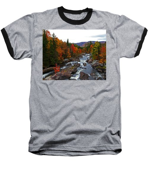 Magalloway River In Fall Baseball T-Shirt