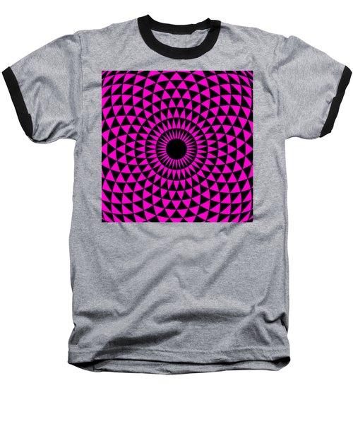 Magenta Balance Baseball T-Shirt