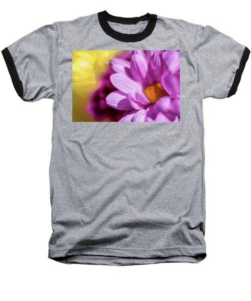 Magenta Floral Baseball T-Shirt