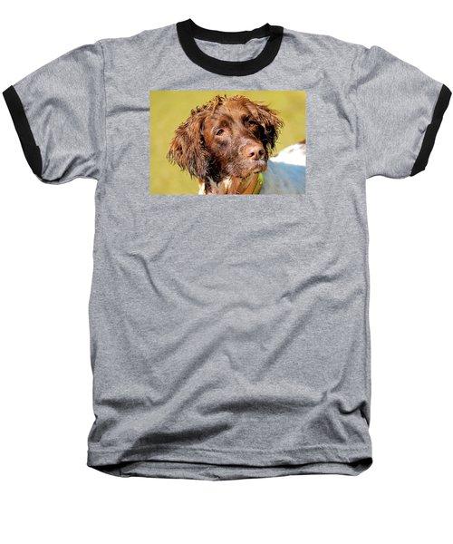 Maggie Head Photo Art Baseball T-Shirt