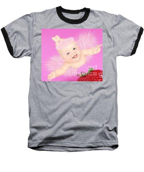 Magic Baby Face-pink Angle Baseball T-Shirt
