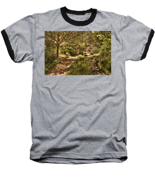 Baseball T-Shirt featuring the photograph Magic Bench by Tamyra Ayles