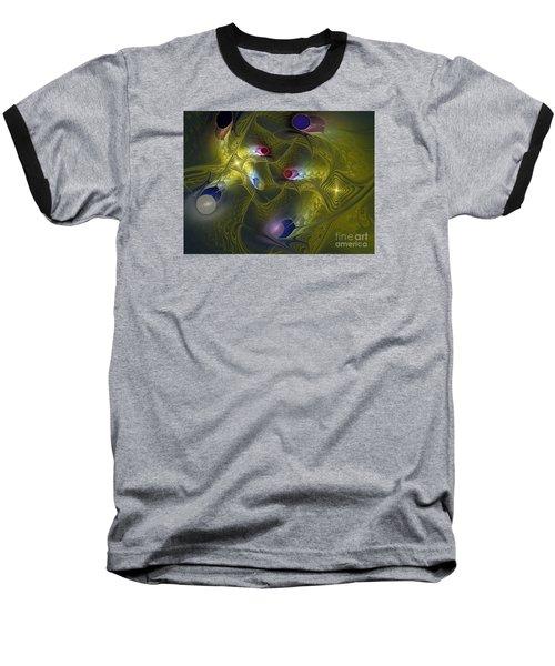 Baseball T-Shirt featuring the digital art Magic Carpet by Karin Kuhlmann