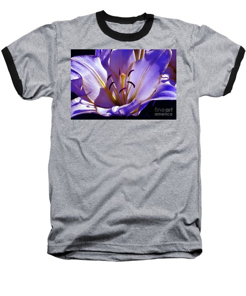 Magic Floral Poetry Baseball T-Shirt