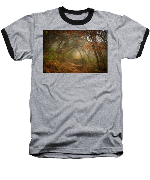 Baseball T-Shirt featuring the photograph Magic Forest by Joye Ardyn Durham