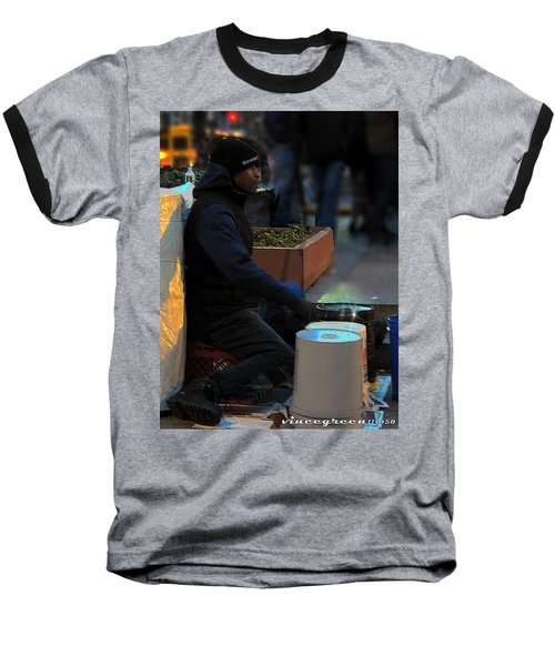 Magic In Love Park Baseball T-Shirt
