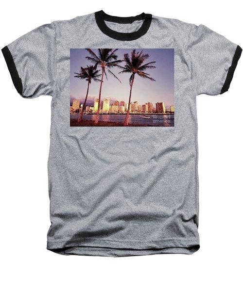 Magic Island Baseball T-Shirt