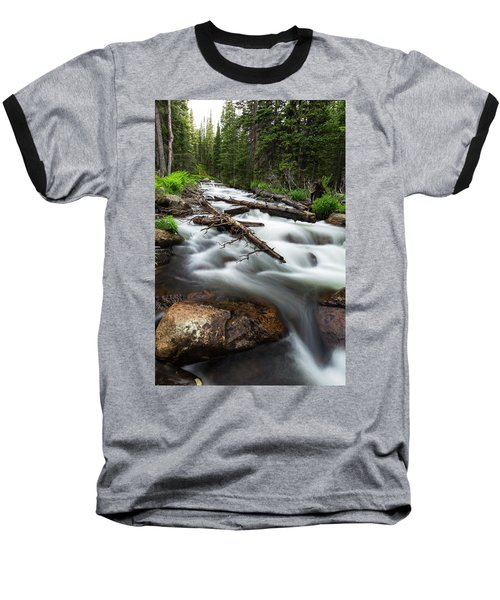 Baseball T-Shirt featuring the photograph Magic Mountain Stream by James BO Insogna
