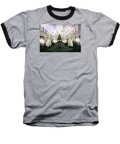 Magic Of Christmas Baseball T-Shirt