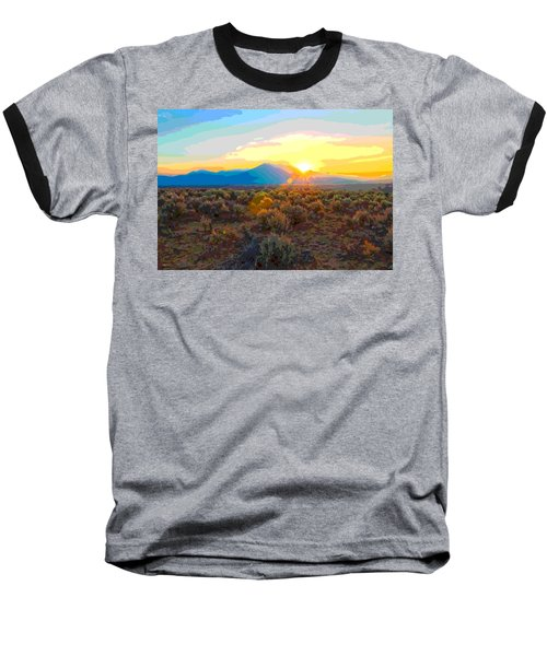Magic Over Taos Baseball T-Shirt