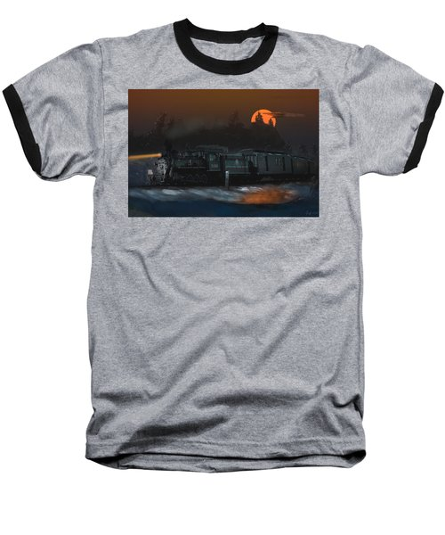 The Last Mile Before Home Baseball T-Shirt by J Griff Griffin