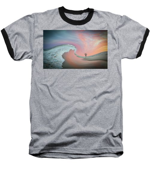 Magical Beach Sunset Baseball T-Shirt