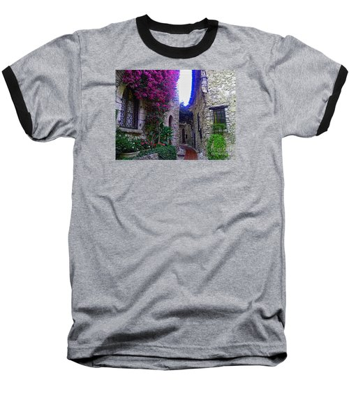 Magical Beauty In Eze France Baseball T-Shirt