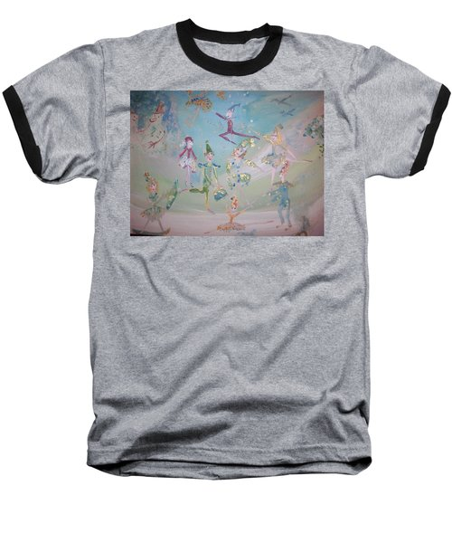Magical Elf Dance Baseball T-Shirt