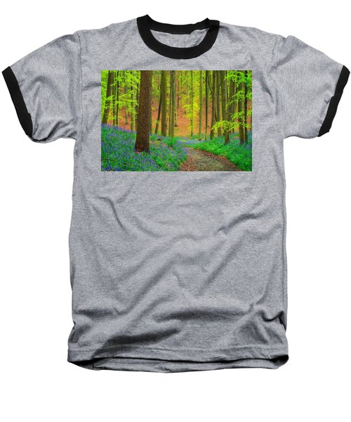Baseball T-Shirt featuring the photograph Magical Forest by Maciej Markiewicz