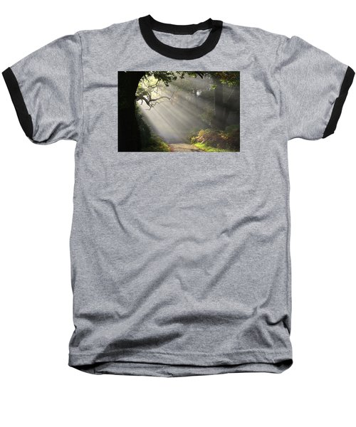 Magical Moment In The Park Baseball T-Shirt by Barbara Walsh