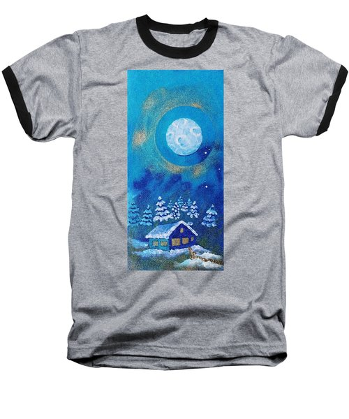 Magical Night At The Cabin Baseball T-Shirt
