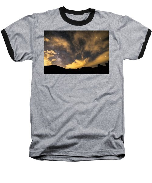 Baseball T-Shirt featuring the photograph Magical Night by James BO Insogna