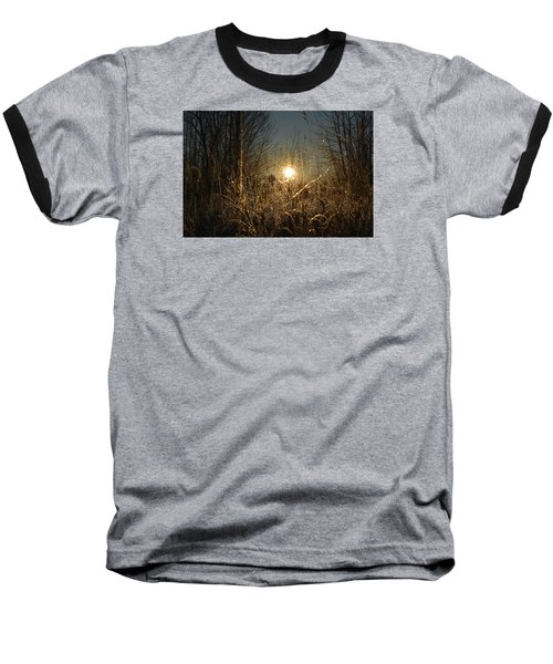 Magical Sunrise Baseball T-Shirt by Dacia Doroff