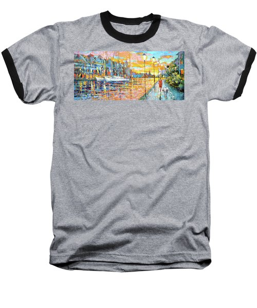 Magical Sunset Baseball T-Shirt
