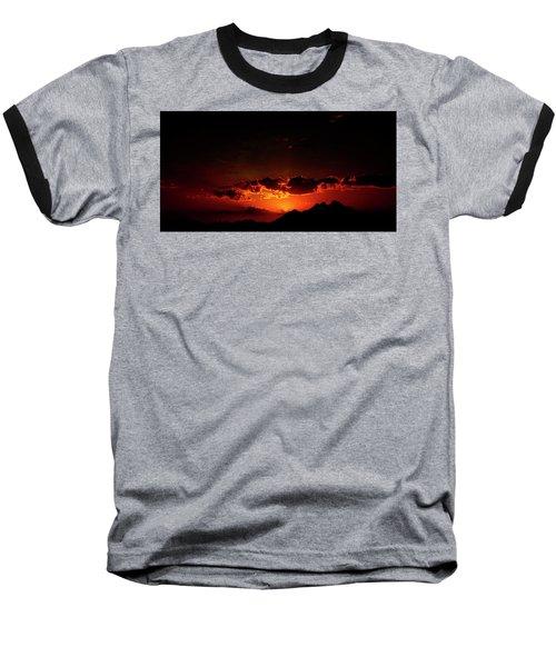 Magical Sunset In Africa 2 Baseball T-Shirt
