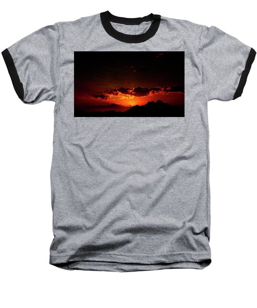 Magical Sunset In Africa 2 Baseball T-Shirt