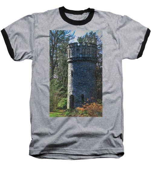 Magical Tower Baseball T-Shirt by Patrice Zinck