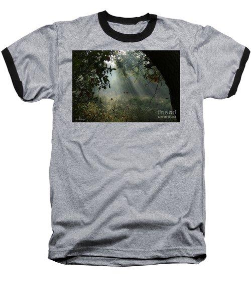 Magical Woodland Lighting Baseball T-Shirt