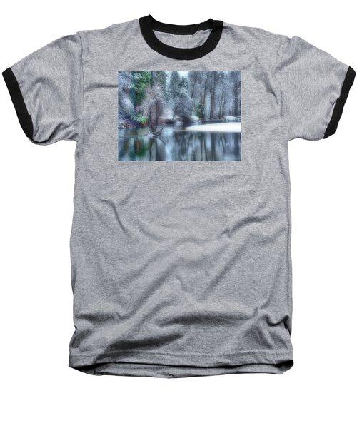Magical Touch To Yosemite Baseball T-Shirt by Josephine Buschman