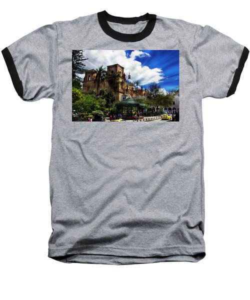 Magnificent Center Of Cuenca, Ecuador IIi Baseball T-Shirt