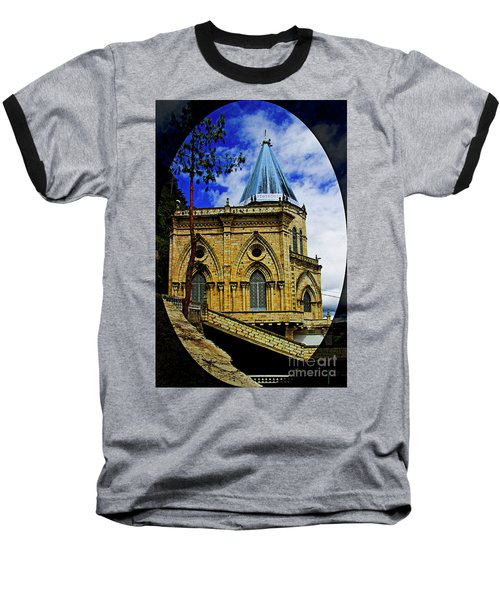 Baseball T-Shirt featuring the photograph Magnificent Church Of Biblian by Al Bourassa