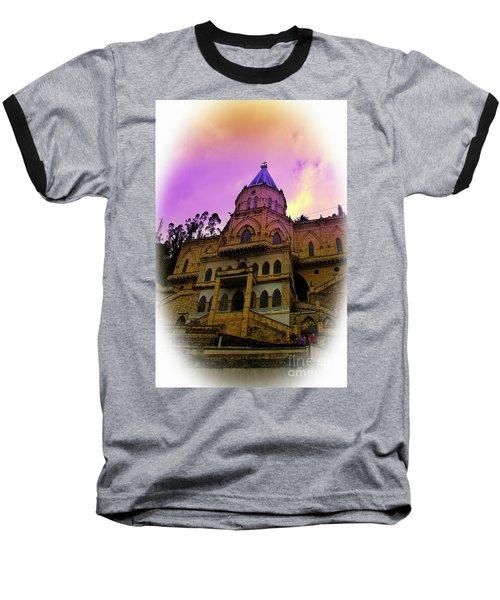 Baseball T-Shirt featuring the photograph Magnificent Church Of Biblian II by Al Bourassa